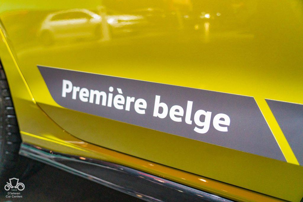 golf 8 premiere belge