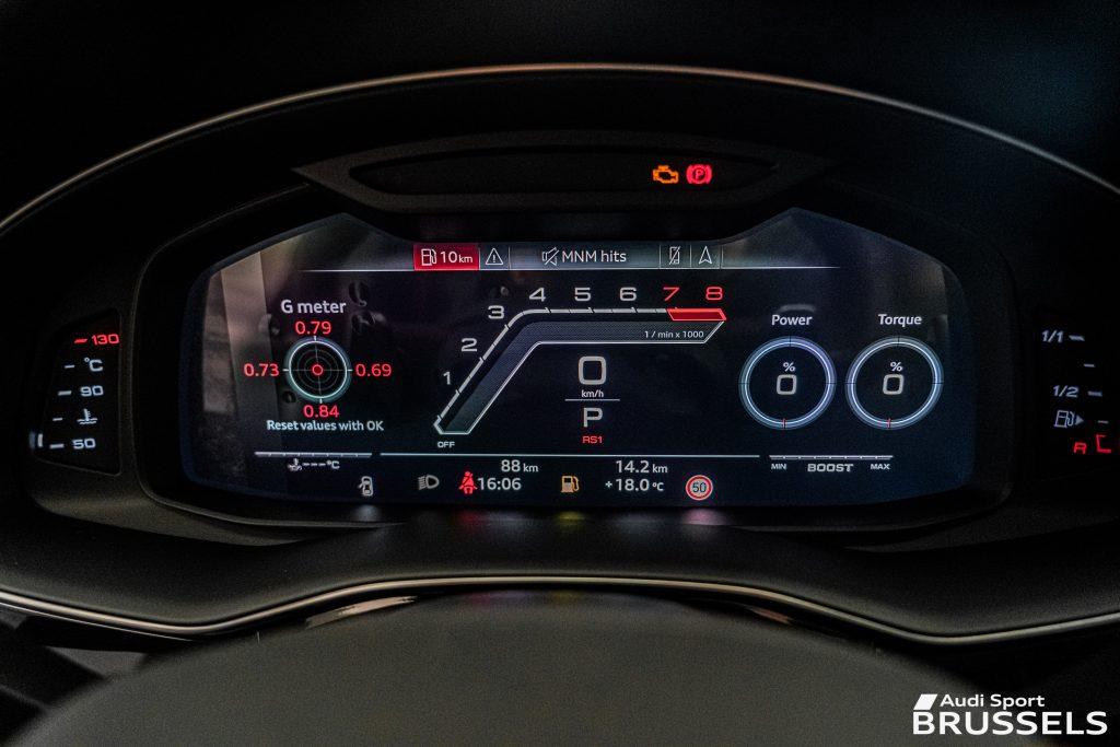 RS Mode Vitrual Cockpit RS Q8