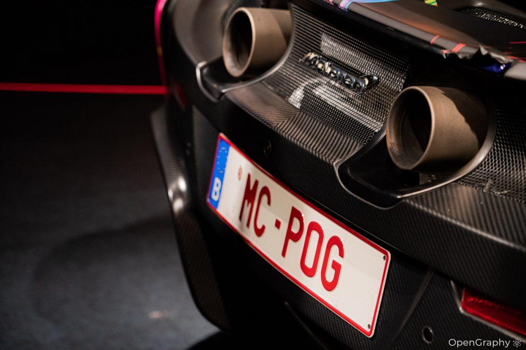 MC-POG Plaque personnalisée