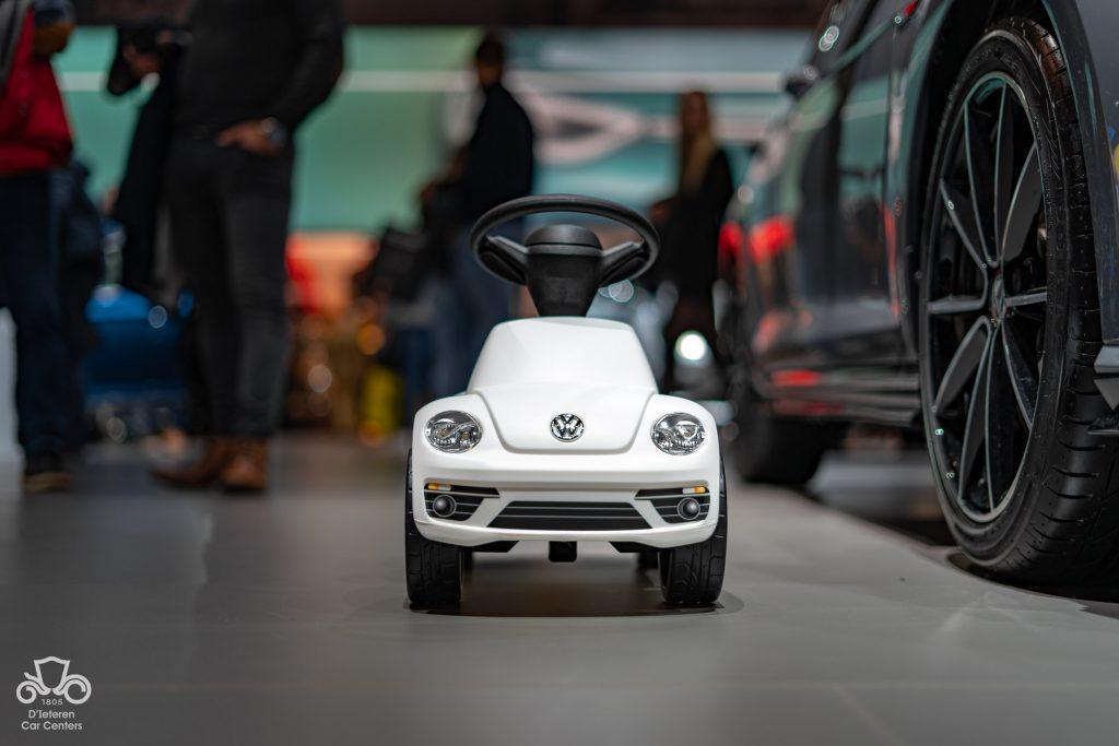 VW Beetle blanche