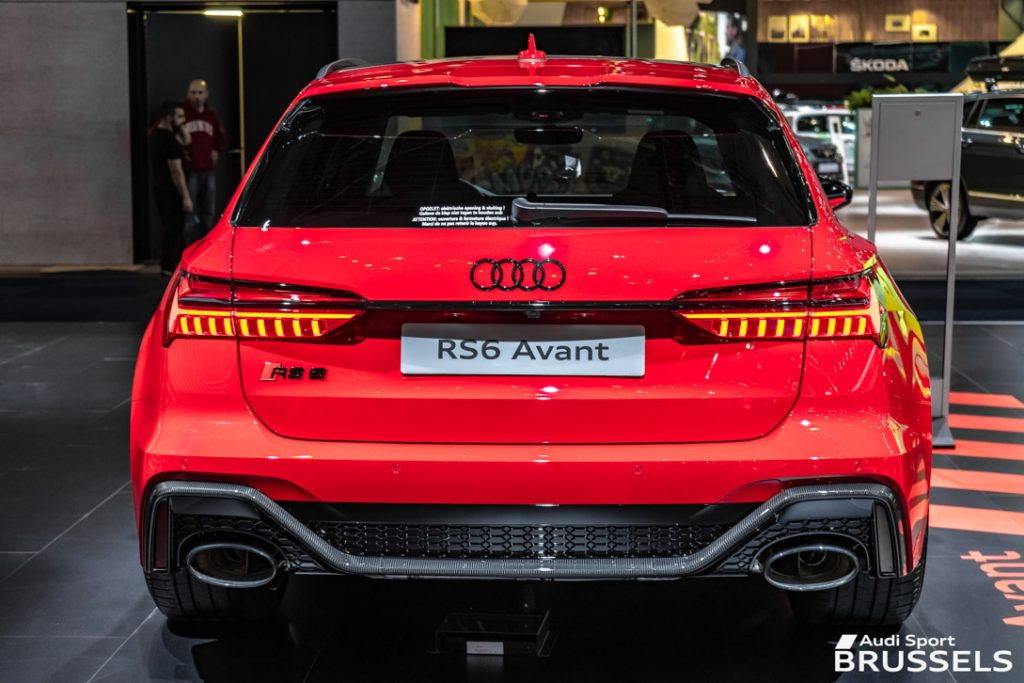 RS6 AVANT 2020 face arrière