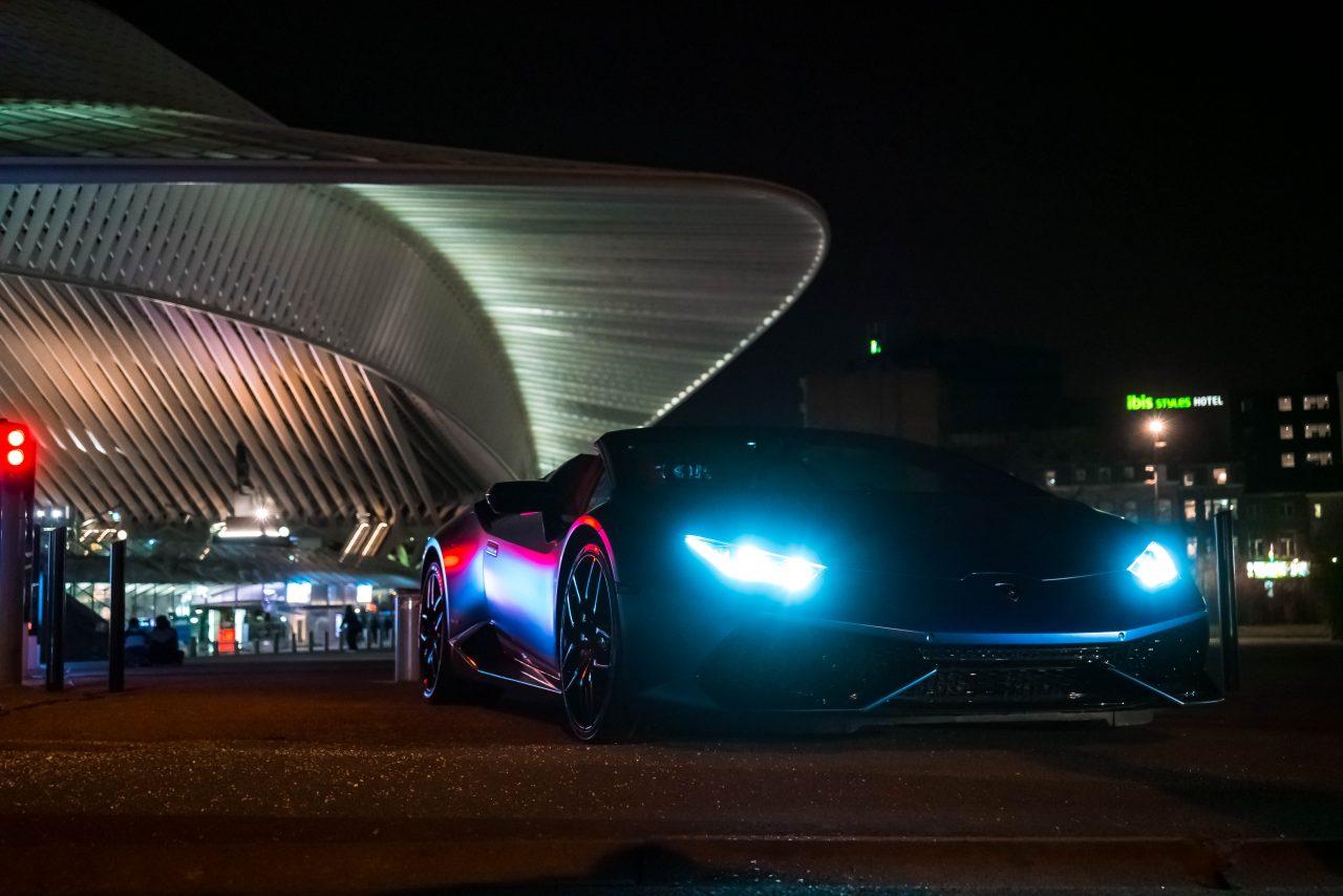 Lamborghini by Night