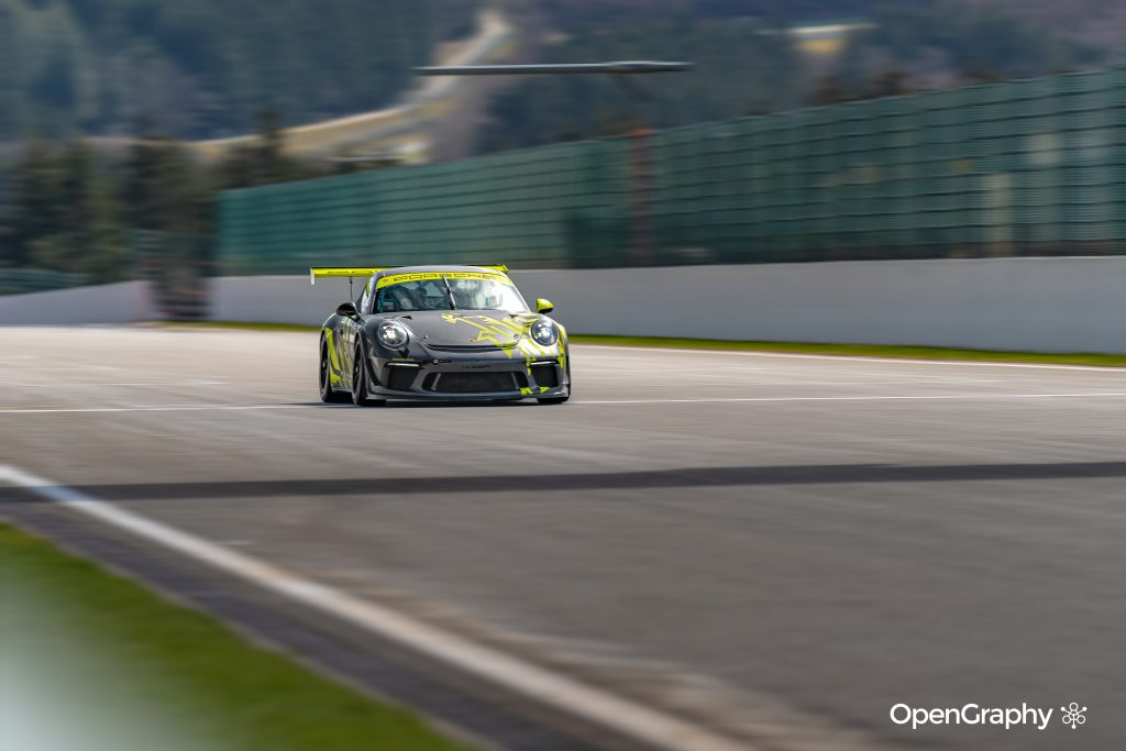 Porsche GT3 RS à spa francorchamps