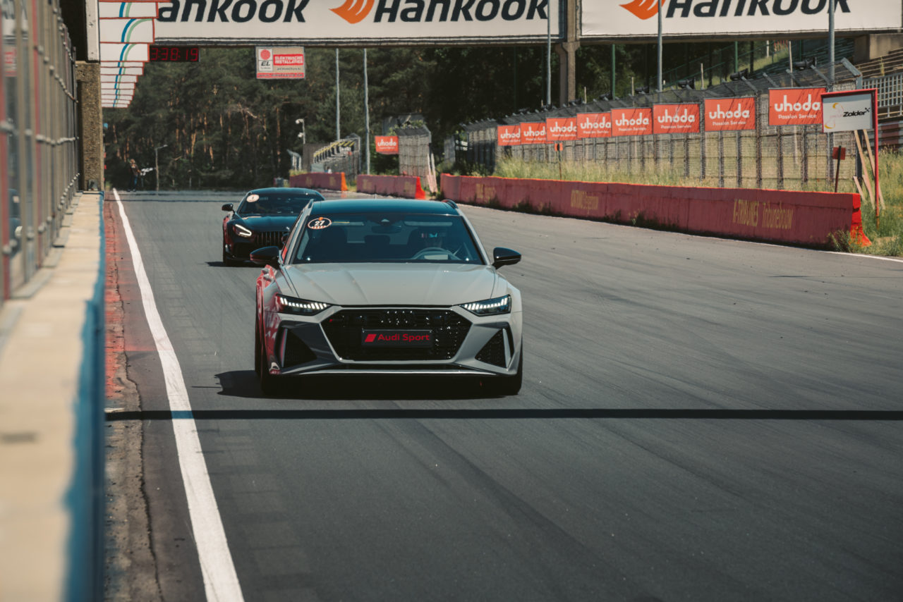 Audi RS6 25 year edition at zolder